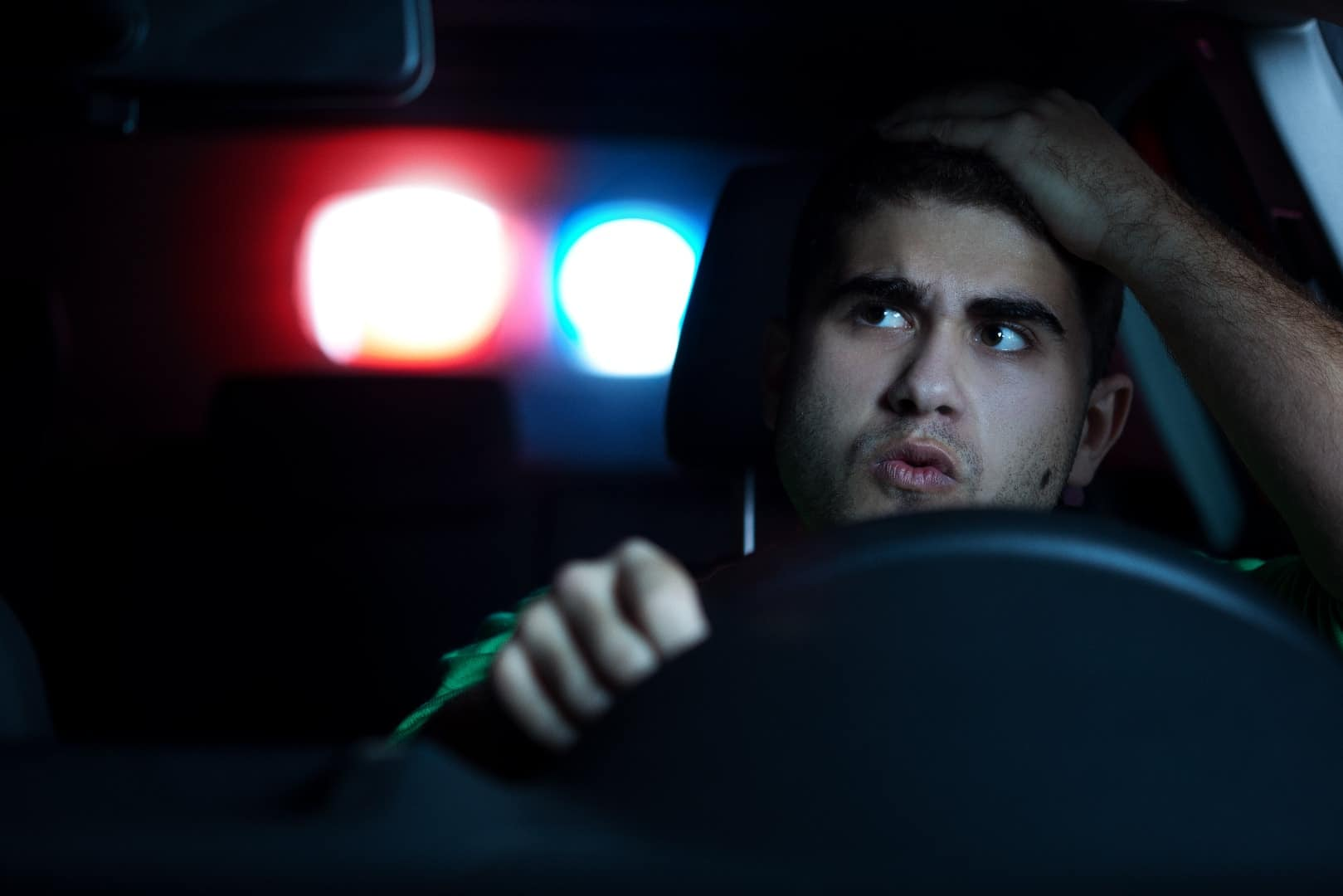 Pull Over By Police Officer min 1